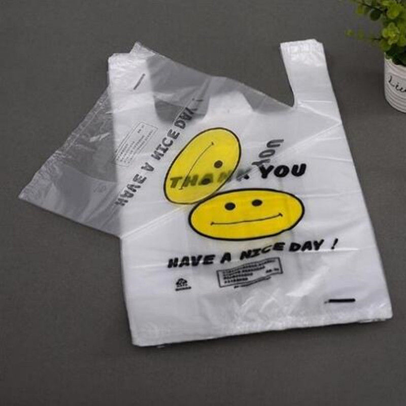Cornstarch Biodegradable Plastic Shopping Bags Eco - friendly EN13432 / MSDS Approval